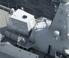 Case Study - 3D visualisation of naval vessels fro bid support and marketing