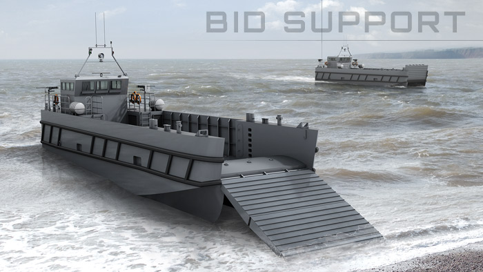 Photo-realistic visualisation of ships and naval design