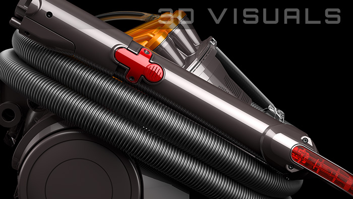 Photo-realistic CG renderings for Dyson product marketing