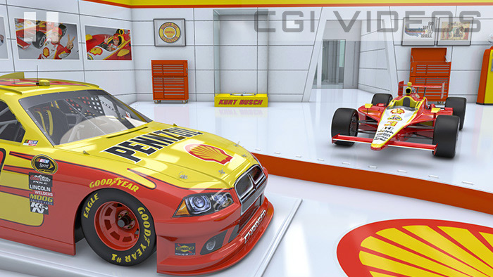 Marketing 3D animation for Shell V-Power